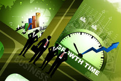 Financial annual report concept Royalty Free Stock Image
