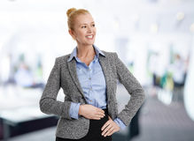 Financial assistant portrait Royalty Free Stock Photo