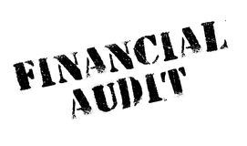 Financial Audit rubber stamp Royalty Free Stock Photo