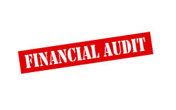 Financial audit Stock Photography