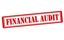 Financial audit Stock Photo