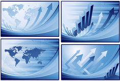 Financial background Royalty Free Stock Images