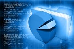 Financial background. Best design of Financial background vector illustration