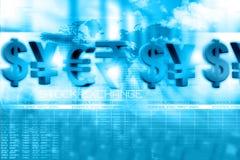 Financial background. Digital illustration of Financial background Stock Images