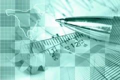 Financial background Stock Photos