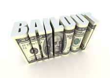 Financial Bailout Stock Photos