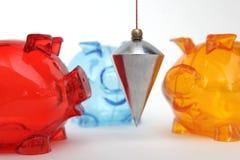 Financial balance Stock Image