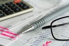 Financial balance. Royalty Free Stock Photos