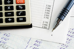 Financial balance. Royalty Free Stock Image