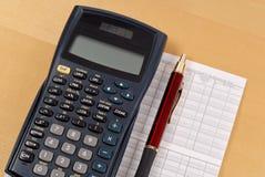 Financial Balance Calculation Stock Photos