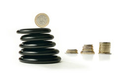 Financial Balance 6 Royalty Free Stock Photos