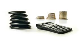 Financial Balance 2 stock photography