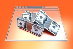 Financial Browser Stock Photos