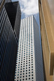 Financial buildings Stock Images