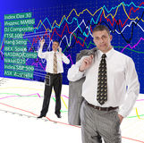 Financial business Stock Images