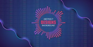 Financial and business abstract background . Stock market investment vector concept. Finance investment stock market exchange graph and chart illustration Stock Image
