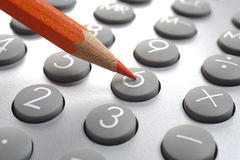 Financial business calculation royalty free stock image