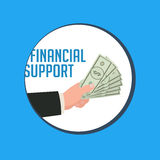 Financial business concept Royalty Free Stock Image