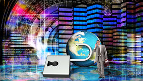 Financial business.Globalization Money. Stock Photography