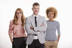 Financial business team portrait Stock Image