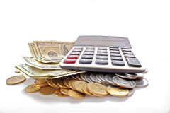 Financial calculation royalty free stock image