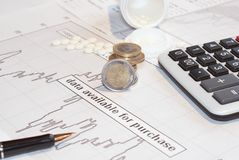 The financial capital Stock Photography