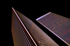 Financial center Royalty Free Stock Photography