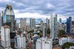 Financial center of Panama City, Panama Stock Photo