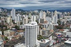 Financial center of Panama City, Panama Royalty Free Stock Image