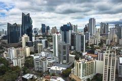 Financial center of Panama City, Panama Royalty Free Stock Photos