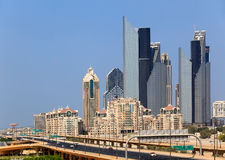 Financial Centre Road, Dubai Stock Image