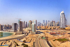 Financial Centre Road, Dubai Royalty Free Stock Images