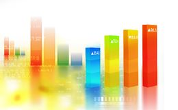 Financial chart and graphs. Background. stock market anylis Stock Photo