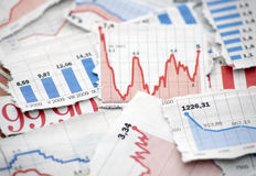 Free Financial Charts Royalty Free Stock Images - 20784169