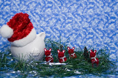 Financial Christmas Stock Images