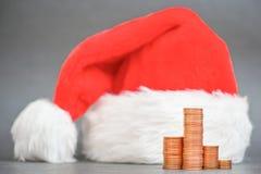 Financial christmas Royalty Free Stock Photos