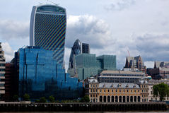 Financial City London England UK Royalty Free Stock Photo