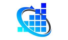 Financial Coaching Logo Design Template. Vector Stock Photo