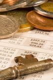 Financial Coins Stock Images