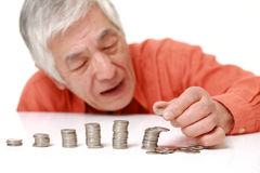 Financial collapse Stock Photos