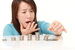 Financial collapse Stock Photo