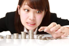 Financial collapse Stock Photography