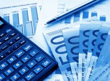 Financial concept Royalty Free Stock Photo