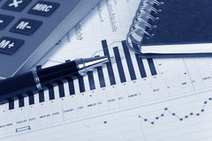 Financial concept Stock Images