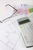 Financial concept Stock Photography