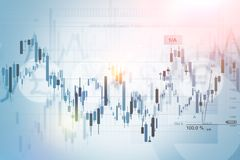 Financial Concept Background Stock Image