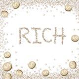 Financial concept Royalty Free Stock Photos