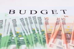 Financial concept. euro money Royalty Free Stock Photography