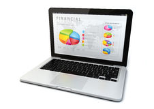 Financial concept Stock Image