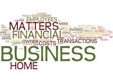 Financial Concerns With A Home Business Text Background  Word Cloud Concept. FINANCIAL CONCERNS WITH A HOME BUSINESS Text Background Word Cloud Concept Royalty Free Stock Photo